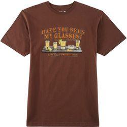 Grey & Disorderly Mens Seen My Glasses T-Shirt