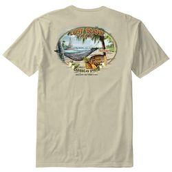 Paradise Shores Mens Lost Island Get Away T-Shirt