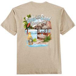 Paradise Shores Mens Suds And Sand Beach Bar T-Shirt