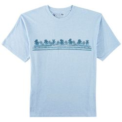 Newport Blue Mens Heather Palm Breeze T-Shirt
