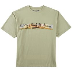 Newport Blue Mens Hidden Hut T-Shirt