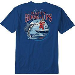 Paradise Shores Mens Happy Hook Ups T-Shirt
