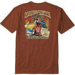 Paradise Shores Mens Margarita Time T-Shirt