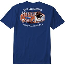 Grey & Disorderly Mens King Of The Coals T-Shirt