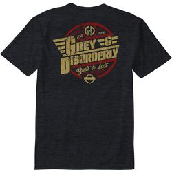 Grey & Disorderly Mens Built To Last T-Shirt