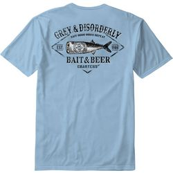 Grey & Disorderly Mens Bait & Beer T-Shirt