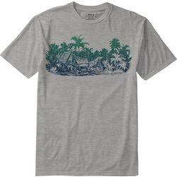 Boca Islandwear Mens Maui Grove Heathered T-Shirt