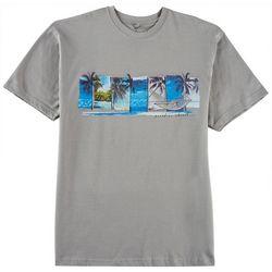 Paradise Shores Mens Tropical Snooze T-Shirt