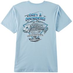 Grey & Disorderly Mens Fishing Charters T-Shirt