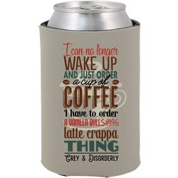 Grey & Disorderly Coffee Can Cooler