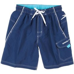 Speedo Mens New Marina Contrast Stitch Volley Swim Shorts