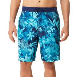 Speedo Mens Marble Daub Floral Boardshorts