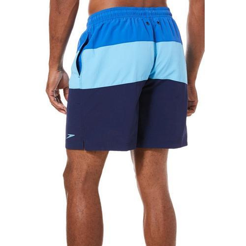 ce6c051200 Speedo Mens Colorblocked Pocket Volley Shorts | Bealls Florida