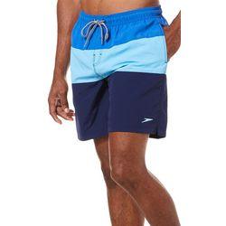 Speedo Mens Colorblocked Pocket Volley Shorts