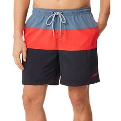 Speedo Mens Colorblock Volley Shorts