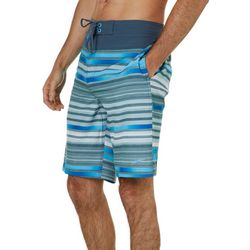 Speedo Mens Backrow Striped Boardshorts