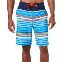 Speedo Mens Backrow Bright Stripe Boardshorts
