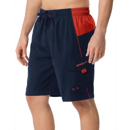 1a5e6050b3 Speedo Mens Sport Colorblock Volley Shorts   Bealls Florida