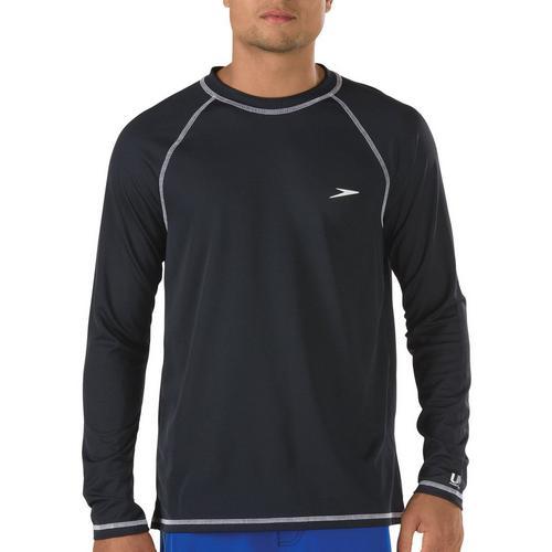 208676dc5dea1 Speedo Mens Easy Solid Long Sleeve Swim Shirt | Bealls Florida