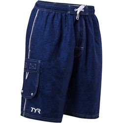 TYR Mens Tahoe Challenger Heathered Swim Shorts