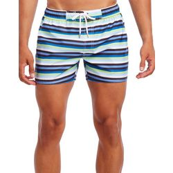 2xist Mens Ibiza Bold Stripe Swim Shorts