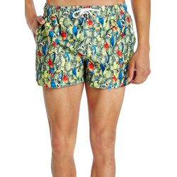 2xist Mens Ibiza Tropical Parrot Swim Shorts