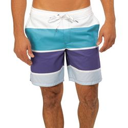 Caribbean Joe Mens Dusk Eboard Swim Trunks