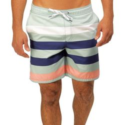 Caribbean Joe Mens Unwind Eboard Swim Trunks