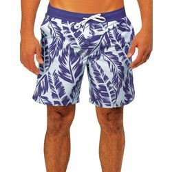 Caribbean Joe Mens Island Vibes Eboard Swim Trunks