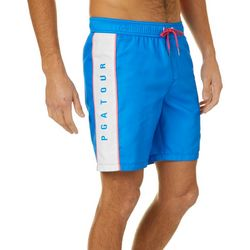 PGA TOUR Mens Splice Volley Swim Trunks