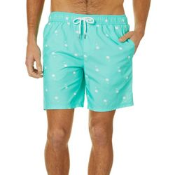 PGA TOUR Mens Golf Balls Volley Swim Trunks