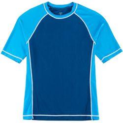 PGA TOUR Mens Colorblocked Swim T-Shirt