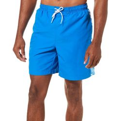 Boca Classics Mens Wave Panel Swim Trunks
