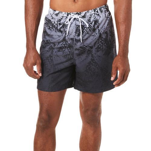 550a1066a6 Boca Classics Mens Ombre Palm Frond Print Swim Trunks | Bealls Florida