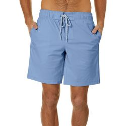 Boca Islandwear Mens Solid Drawstring Swim Trunks