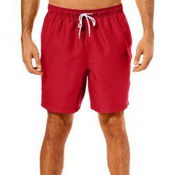 Boca Classics Mens Solid Swim Trunks