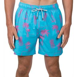 Vintage Summer Embroidered Icon Look Swim Shorts
