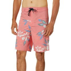 Burnside Mens Bounce Hazr Tropical Floral Boardshorts