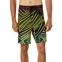 Burnside Mens Bounce Striped Boardshorts