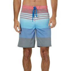 Burnside Mens Bolt Striped Boardshorts