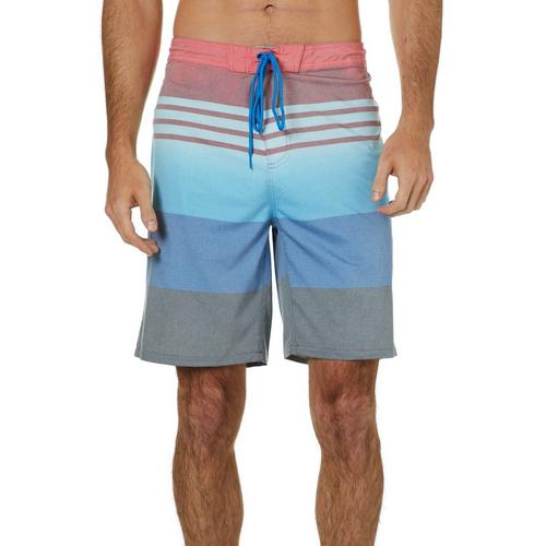 467f9ad799557 Burnside Mens Bolt Striped Boardshorts | Bealls Florida