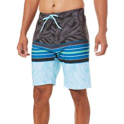 Burnside Mens Banyan Striped Boardshorts