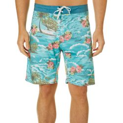 Burnside Mens Paradise Boardshorts