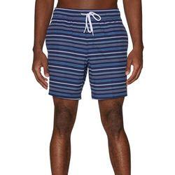 Sperry Mens Rope Stripe Volley Swim Shorts
