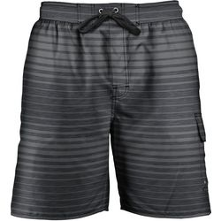 Newport Blue Mens Pow Wow  Stripe Swim Trunks