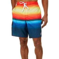 Newport Blue Mens Spectrum Swim Trunks