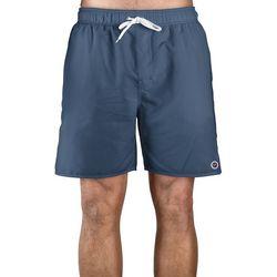Newport Blue Mens Solid Swim Trunks
