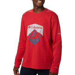 Columbia Mens Mountain Range Long Sleeve T-Shirt