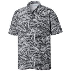 Columbia Mens Trollers Best Fish Print Shirt