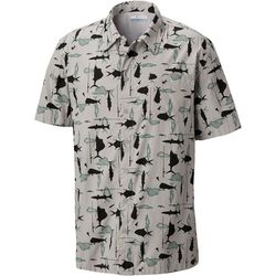 Columbia Mens Trollers Best Fish & Poles Shirt